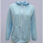 SUN PROTECTIVE HOODED JACKET. MADE IN AUSTRALIA. SOLARCOOL FABRIC